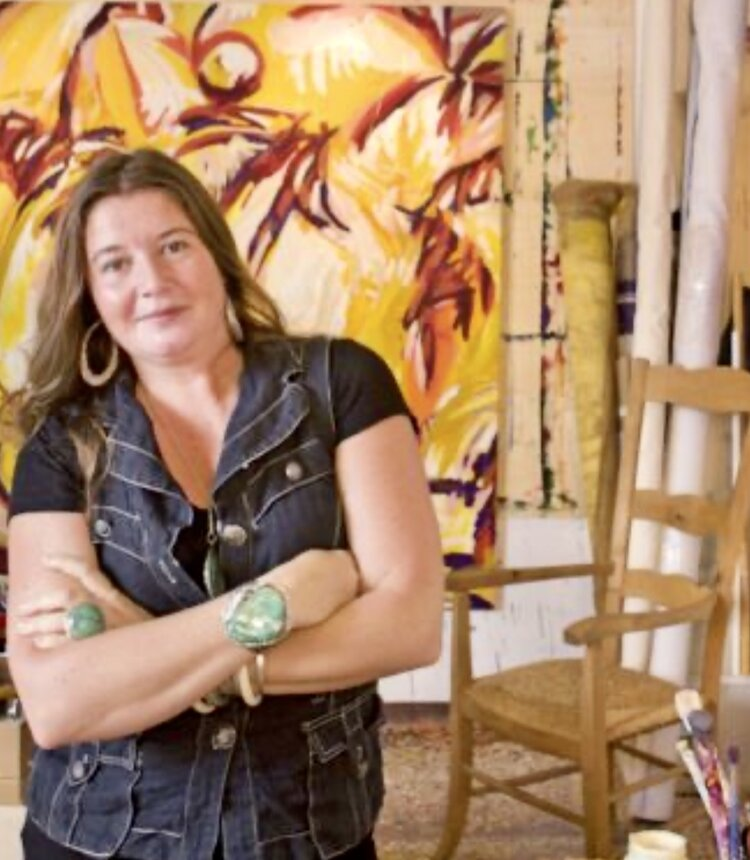 Stacy Gibboni   Multi-talented Stacy is both a professional artist and a tour guide. She's been living in Venice for more than 20 years, and has brought a piece of her watery city into her painting. You can check out her artworks or book a visit to her studio at  stacygibboni.com